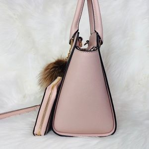 Michael Kors Bags - 3PCS Michael Kors Selma Satchel Wallet Charms